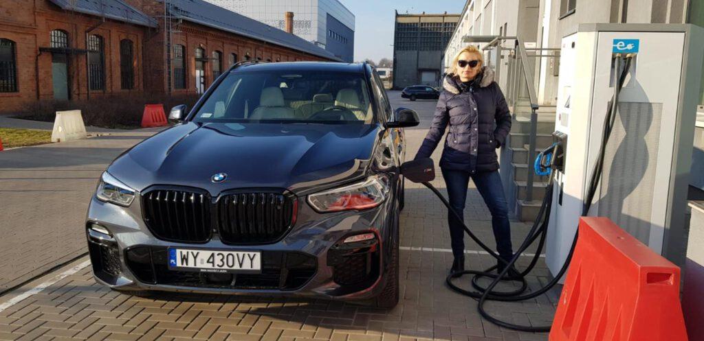 Stacje szybkiego ładowania samochodów elektrycznych